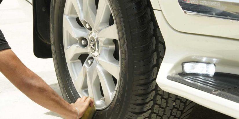 Tyre Polishing